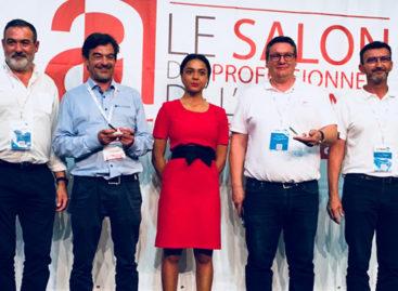 SPA 2018 : SOMAS et Blastrac récompensés au Trophée de l'innovation à Paris