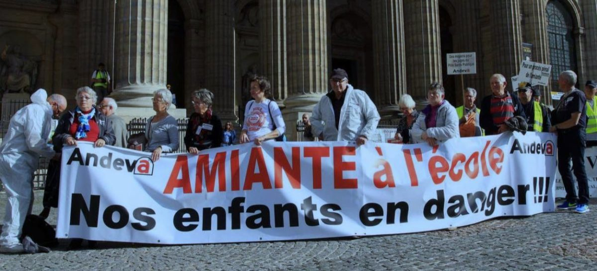 Amiante à l'école : 13 associations interpellent le ministre de l'Education nationale